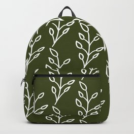 Feeling of lightness Pattern- Pine needle green Backpack