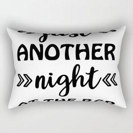Just Another Night At The Bar Rectangular Pillow