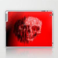 Etched Skull Laptop & iPad Skin