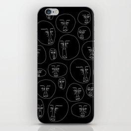 Crowded 3 iPhone Skin