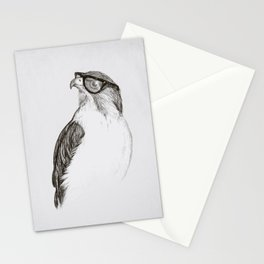 Hawk with Poor Eyesight Stationery Cards