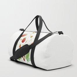 Wild Strawberries Duffle Bag