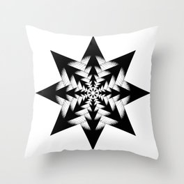 Piece from storyboard Throw Pillow
