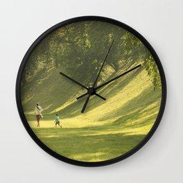 Sunny valley Wall Clock