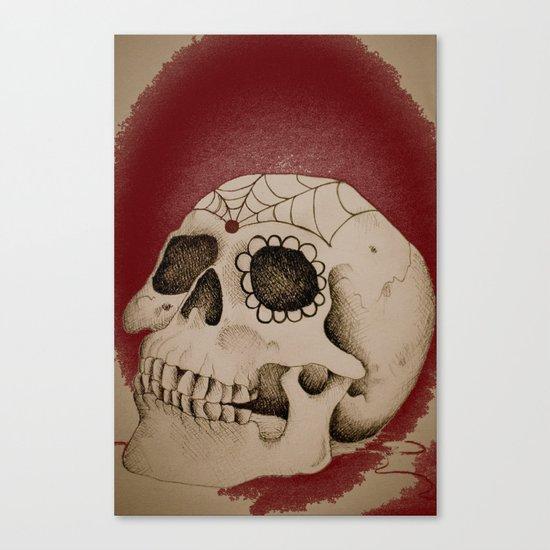 Outta My Skull Canvas Print