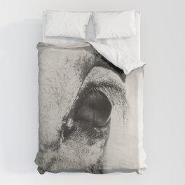 HorSe (V2 grey) Duvet Cover