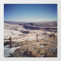 Red Canyon, Wyoming Landscape Photograph Canvas Print