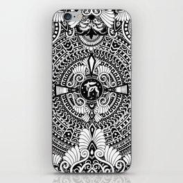 deer mandala iPhone Skin