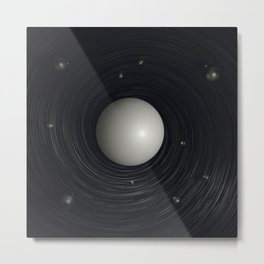 atom core Metal Print