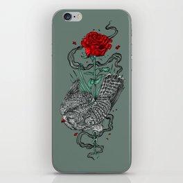 Hawk Rose iPhone Skin