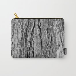 Pale Tree Bark Carry-All Pouch