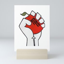 Red For Ed Logo Mini Art Print