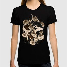 Rats and Peonies T-shirt
