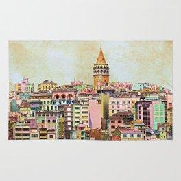 Istanbul city Turkey Rug