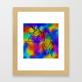 Unicorn Madness Framed Art Print