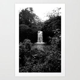 Hana Waterfall Art Print