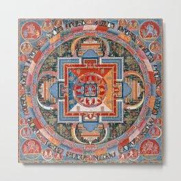 Mandala of Jnanadakini Metal Print