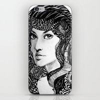 oriental iPhone & iPod Skins featuring Oriental by Judy Hung