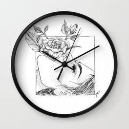 Sweet Nothings Wall Clock