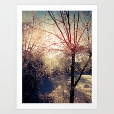 Snow Day 2 Art Print
