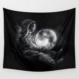 Moon Play Wall Tapestry