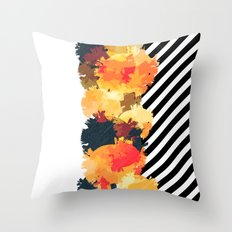 The Fall Patterns #3  Throw Pillow