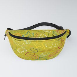 flora chartreuse Fanny Pack