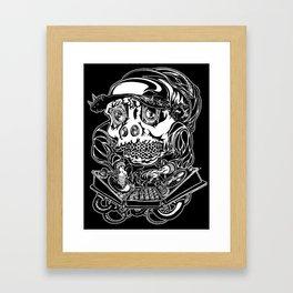 DJ Hardkore Framed Art Print