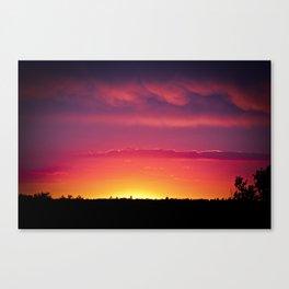 Fairytail Sunset Canvas Print