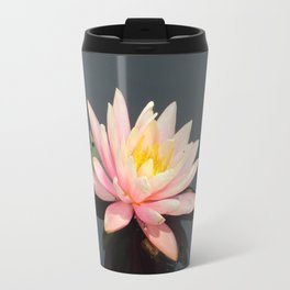 Water lillypads and lilly Travel Mug