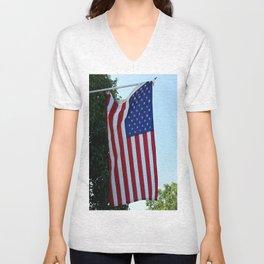 Flag Unisex V-Neck