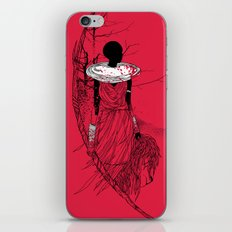 The Lioness Warrior iPhone & iPod Skin