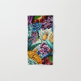 Flowers and Wild Nature Hand & Bath Towel