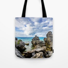 Tobacco Bay Beach, Bermuda Tote Bag