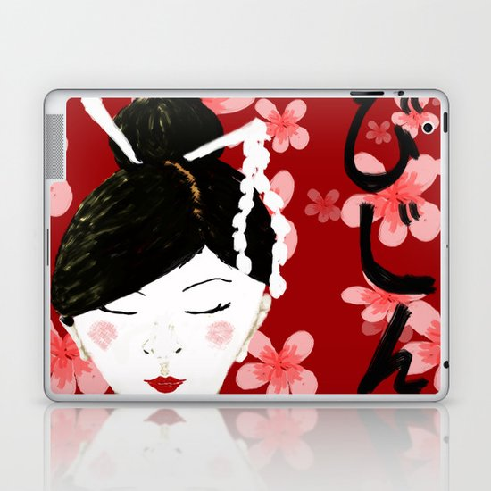 Japanese Beauty Laptop & iPad Skin