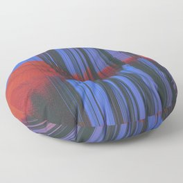 Sunset Melodic Floor Pillow