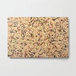 Wild rice Metal Print