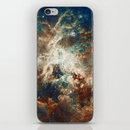 Space Nebula, Star and Space, A View of Galaxy and Outerspace iPhone Skin