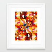 tapestry Framed Art Prints featuring Tapestry by Jose Luis