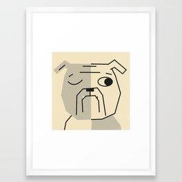 Dog_10 Framed Art Print