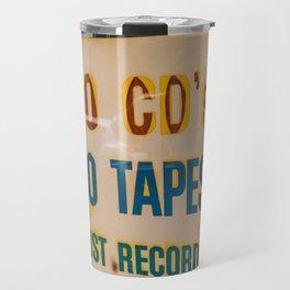 Just Records Travel Mug