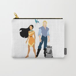 Pocahontas and John Carry-All Pouch