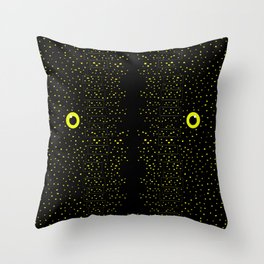 Midnight City II Throw Pillow