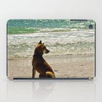 shiba inu iPad Cases featuring Shiba Inu by Blue Lightning Creative