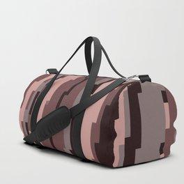 Mauve Pixels Duffle Bag