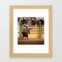 Strathmore rodeo Framed Art Print