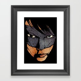 Brother Hazard Framed Art Print