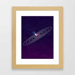 Portal aka Peace Out Framed Art Print
