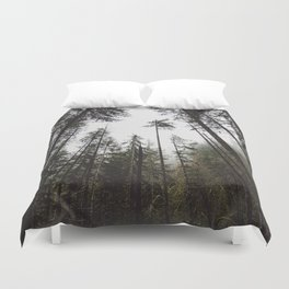 Pacific Northwest Forest Duvet Cover