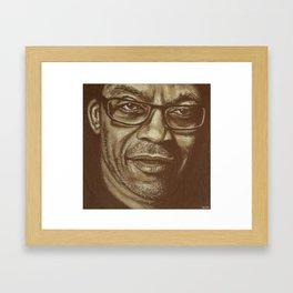 "awesome""herbie""! Framed Art Print"